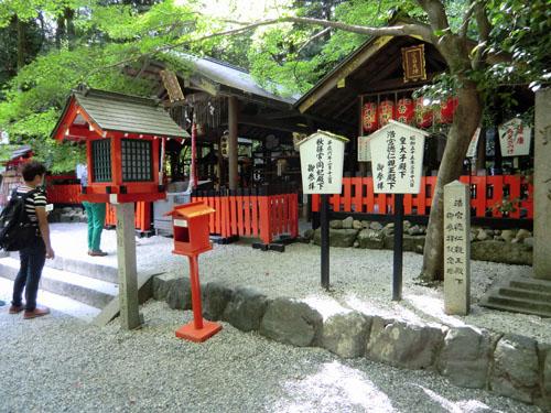 Arashiyama Bambuswald Japan Osaka Kyoto Schrein