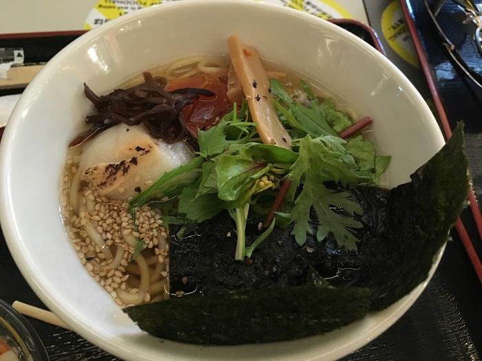 Veganes Ramen in Kyoto